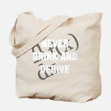 Drink-and-derive-3d-whiteLetters copy Tote Bag