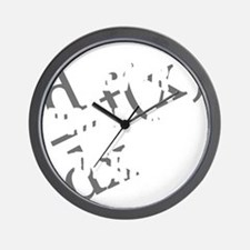 Drink-and-derive-3d-whiteLetters copy Wall Clock