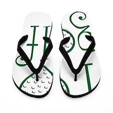 I love golf, GW grenouille Flip Flops
