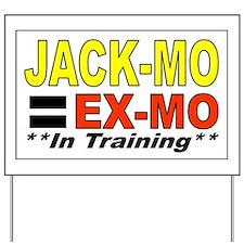 j mo Yard Sign
