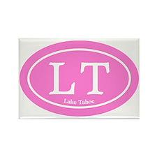 LT.sticker.pink Rectangle Magnet