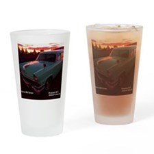 Roadtrip America Calendar Drinking Glass