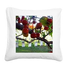 10Oct21_fallGRANDVIEWberries1 Square Canvas Pillow