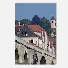 Regensburg. Historic land Postcards (Package of 8)