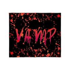 VampTyBPsq Throw Blanket