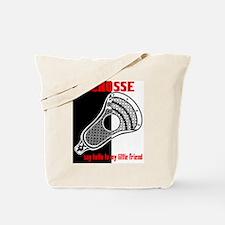 Lacrosse Say Hello Tote Bag