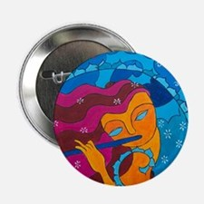 "Flute Player 2.25"" Button (10 pack)"