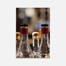Bottles of Armagnac brandyGironde Rectangle Magnet