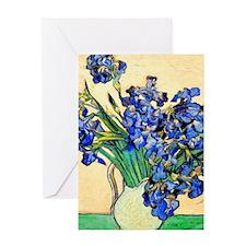 K/N VG Irises Greeting Card