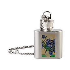 K/N VG Irises Flask Necklace