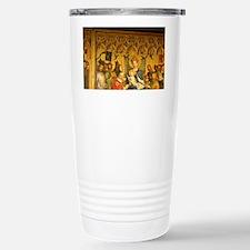The Altarpiece of the Three Kin Travel Mug