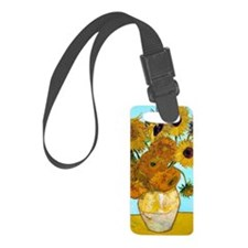 441 VG Sunflowers Luggage Tag
