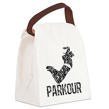 distressed parkour Canvas Lunch Bag