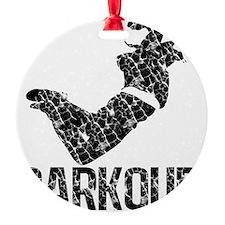 distressed parkour Ornament