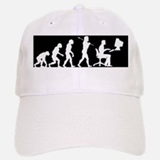 evolution comuter bumper2 Baseball Baseball Cap