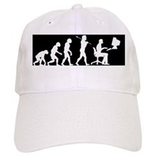 evolution comuter bumper2 Baseball Cap