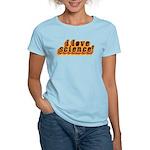 Love Science Retro Women's Light T-Shirt
