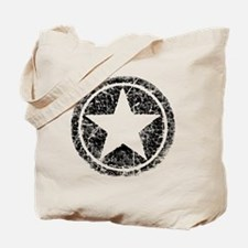 distressed star Tote Bag