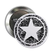 """distressed star 2.25"""" Button"""