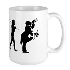 evolution drunkMP Mug
