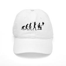 evolution computer14x6 Baseball Cap