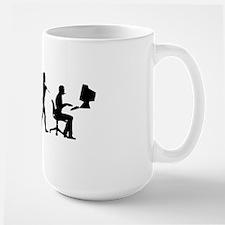 evolution computer14x6 Mug