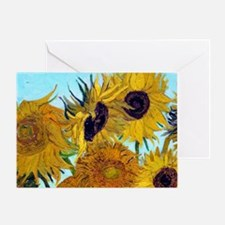 Bags VG Sunflowers Greeting Card