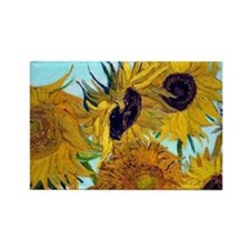 Bags VG Sunflowers Rectangle Magnet