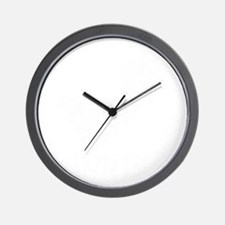 distressed parkour2 Wall Clock