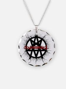 Satanarchist-WHITE Necklace