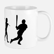evolution baseball14x6 Mug