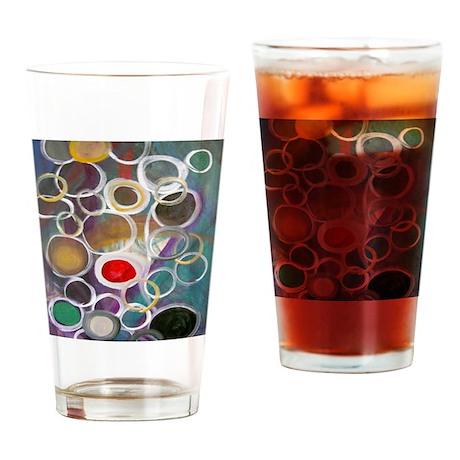 Community flipflops Drinking Glass