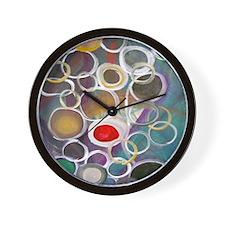 Community flipflops Wall Clock