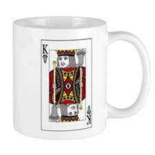 Lacrosse King of Spades Mug