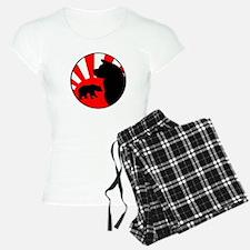 Bear Sun logo (dark, no tex Pajamas