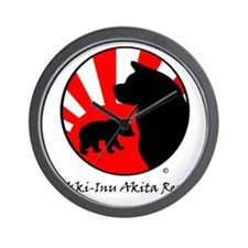Bear Sun logo (light) Wall Clock