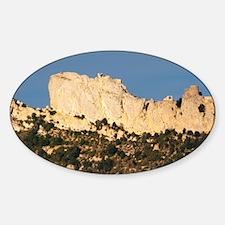 Chateau de Peyrepertuse. Chateau de Sticker (Oval)