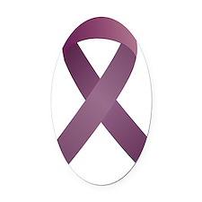 Epilepsy Awareness Ribbon_large Oval Car Magnet