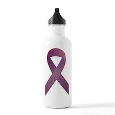 Epilepsy Awareness Rib Water Bottle