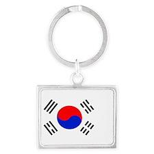 South Korea Landscape Keychain