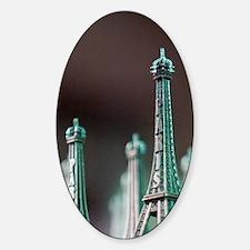 Eiffel Tower Area: Eiffel Tower Min Decal