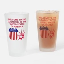 oligarchy Drinking Glass