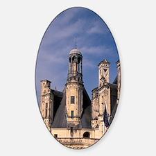 EU, France, Loire Valley, Loir, et, Sticker (Oval)