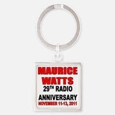 29th-Anv-Shirt01-Back Square Keychain