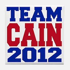 team cain Tile Coaster