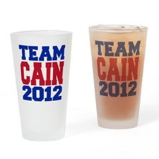 team cain Drinking Glass