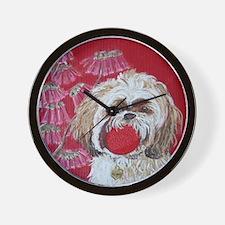 SQ Lhasa Apso Wall Clock