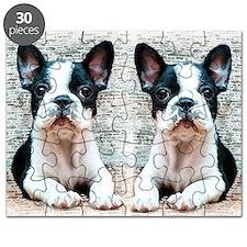 flip flops french bulldog Puzzle