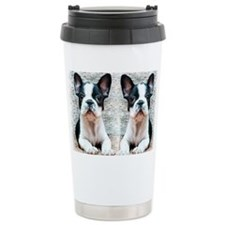 flip flops french bulldog Travel Mug