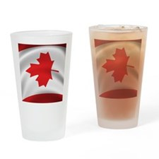 canada_flag_iphone_4g Drinking Glass